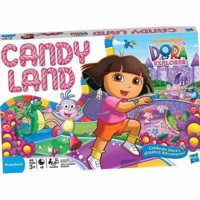 Hasbro Candy Land Dora the Explorer ()