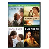 Atonement / Pride & Prejudice / Jane Eyre / Elizabeth Four Feature Films
