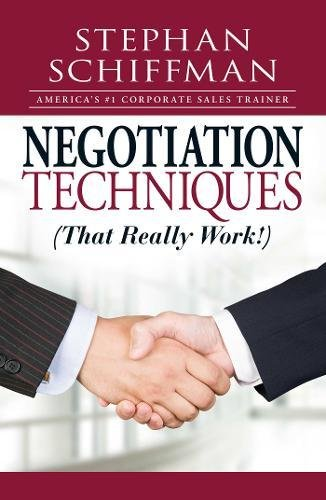Negotiation Techniques (That Really Work!) PDF