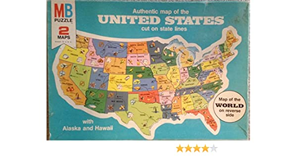 Amazoncom Puzzle Map Of The United States Toys Games - Us map pi
