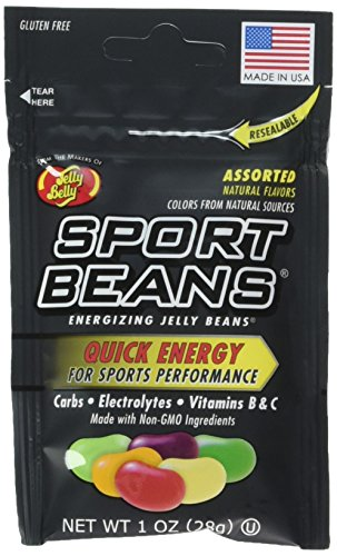 Bean Jelly - Jelly Belly Assorted Sport Beans (Berry, Fruit Punch, Green Apple, Juicy Pear, Lemon Lime, Orange) - 6 pack