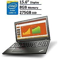 Lenovo ThinkPad T560 Business Laptop: 15.6 (1366x768), Intel Core i5-6200U, 275GB SSD, 8GB RAM, Backlit Keyboard, FingerPrint Reader, Windows 7 Pro Upgradeable to Windows 10 Pro (20FH Black)