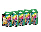 Fujifilm Instax Mini Instant Rainbow Film 50 Sheets