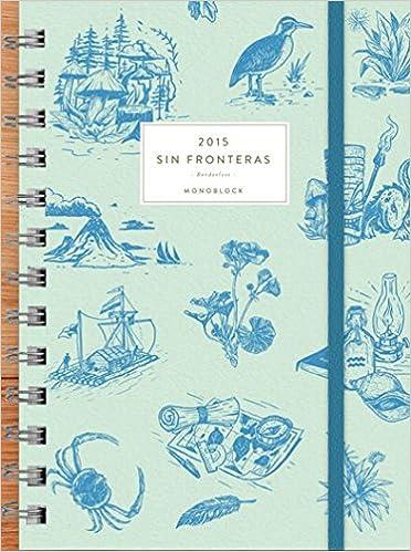 Agenda anillada Sin Fronteras 2015 (Spanish Edition): Lucas ...