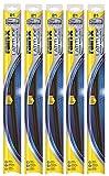 Rain-X 5079279-2-5PK Latitude Wiper Blade, 22' (Pack of 5)