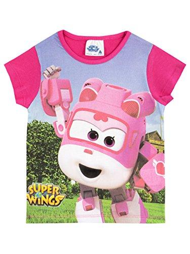 Super Wings Girls' Dizzy T-Shirt Size 3T Pink