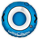 Lucky Bums Catchin' Rays River Tube, Heavy Duty, River Tube for Floating, Cup Holders, Solid Padded Handles, Blue, 48""