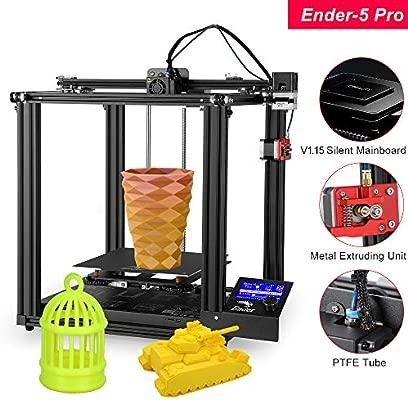 Aibecy Creality 3D High Precision Ender-5 Pro Impresora 3D ...
