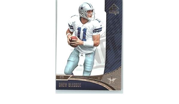quite nice 3f93a a90ff Drew Bledsoe - Dallas Cowboys - 2006 SP Authentic Card # 24 ...