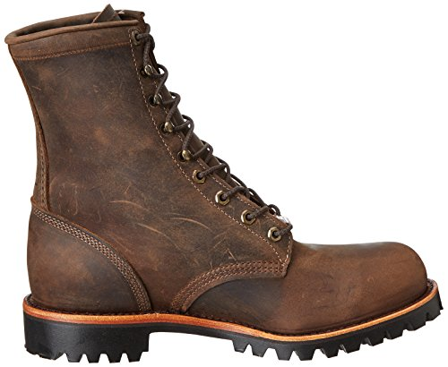 Chippewa Menns 8 Stål Tå Eh 20086 Snøring Boot Brown