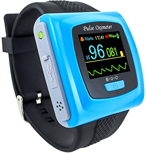 CMS 50F for Using After Sports or Home Daily Use adult Wrist Pulse Oximeter by Contec