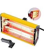 Infrared Paint Curing Lamp 2000w Handheld Infrared Paint Baking Lamp Shortwave Infrared Heating Light Car Body Repair Tool (110V US Plug)