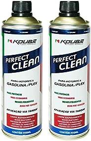Kit 2 Perfect Clean Flex Gasolina Etanol e Gnv Koube