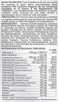 Airbiotic AB - MultiVit AB Complex - 60 tabletas. Multivitaminas para la vida diaria: Amazon.es: Salud y cuidado personal