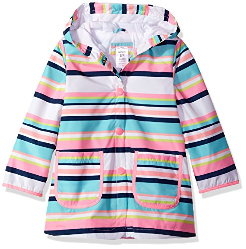 Carters Little Girls Printed Hooded