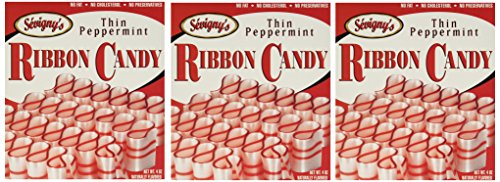 (Sevigny's Thin Peppermint Ribbon Candy - Pack of 3)