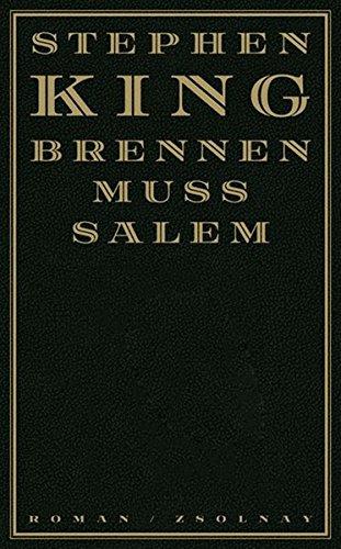 Brennen muß Salem: Roman