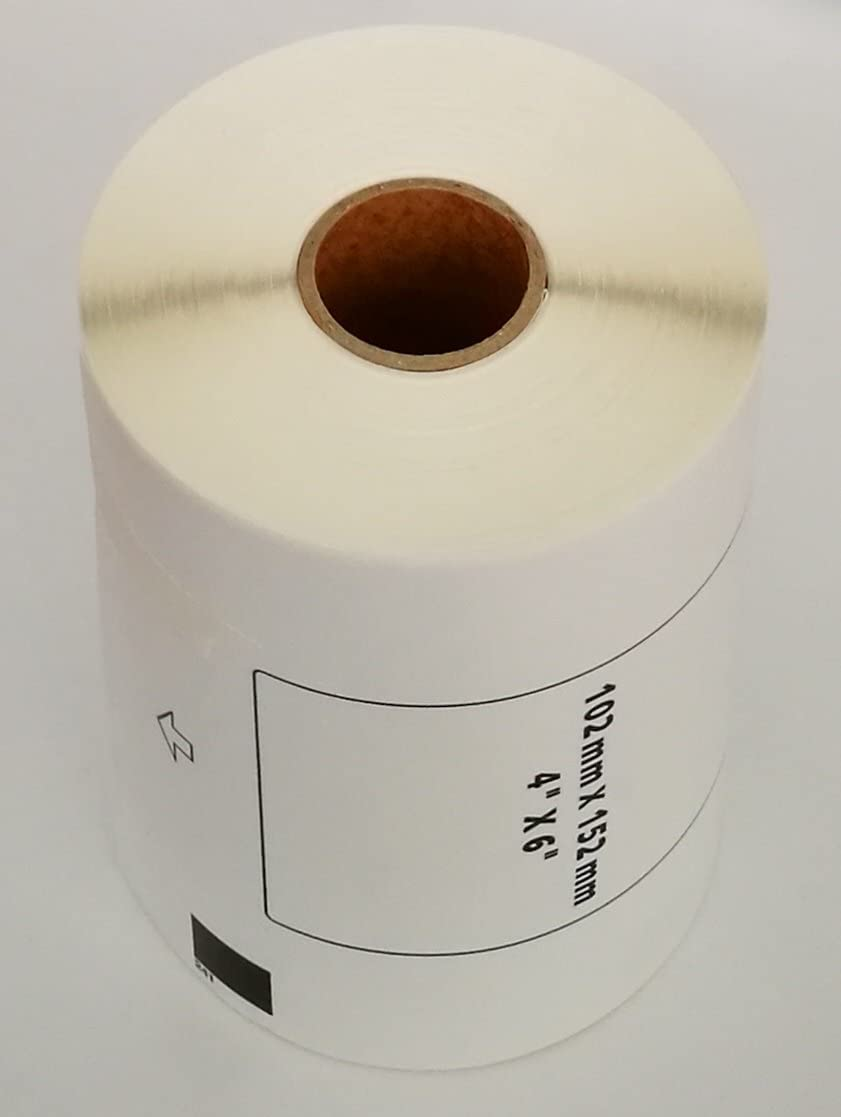 8x Rolls Compatible DK-11241 BROTHER Large Shipping Refill Labels 152mm x 102mm