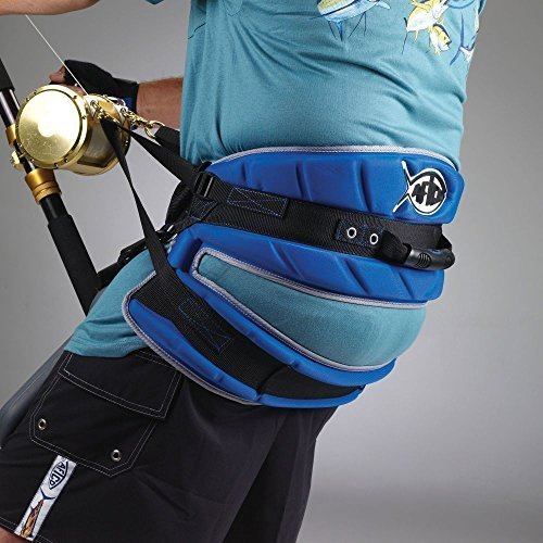 Aftco HRNS1BLUE Max Force Harness Blue by AFTCO