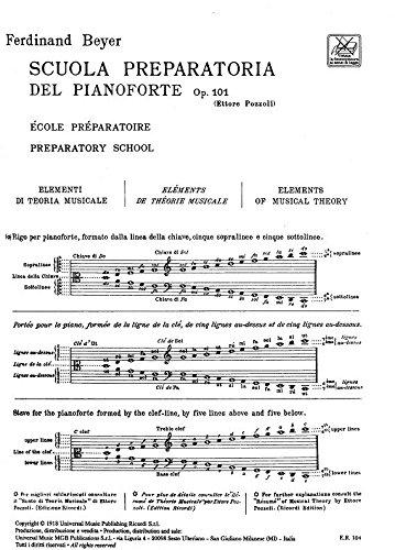 Beyer Scuola Preparatoria Del Pianoforte Op.101 Pdf