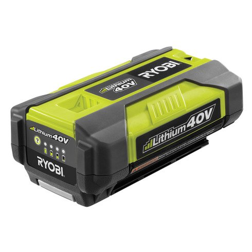 Ryobi Op4026a Genuine Oem 40v High-capacity Lithium Ion Battery W Onboard Fuel Gauge