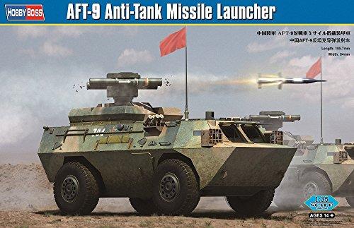 - Hobby Boss AFT-9 Anti-Tank Missile Launcher Building Kit