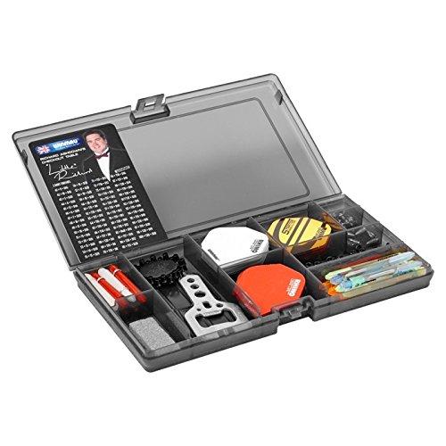 Winmau Ultimate Kit de réglage pour jeu de fléchettes avec empennages, tiges et accessoires