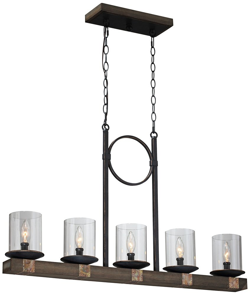 artcraft lighting hockley 5 light island fixture ceiling pendant