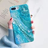 YeLoveHaw iPhone 8 Plus / 7 Plus Case for Girls, Glitter Pearly-Lustre Translucent