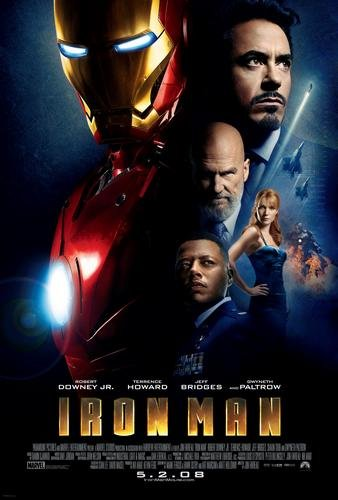 Ironman Movie Poster 24x36