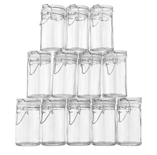 small plastic favor jars - 3