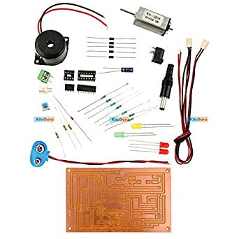 DIY Kit - Over Speed Indicator : LGKT149 easy electronic projects ...