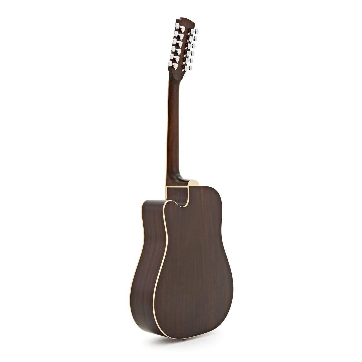 Guitarra Electro-Ac/ústica Hartwood Villanelle de 12 cuerdas
