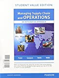 Managing Supply Chain and Operations, Student Value Edition Plus MyOMLab with Pearson EText -- Access Card Package1 1st Edition