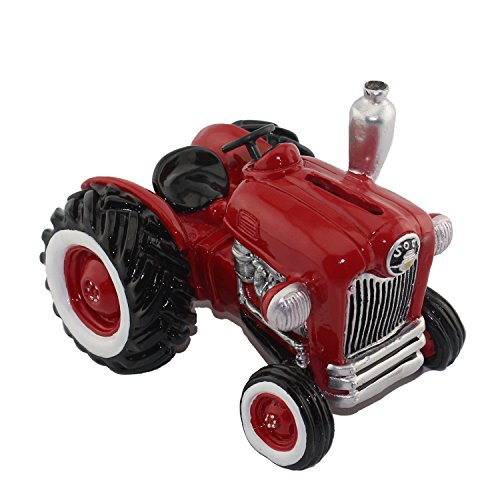 CITONG Car Collection Coin Bank (Red Tractor)