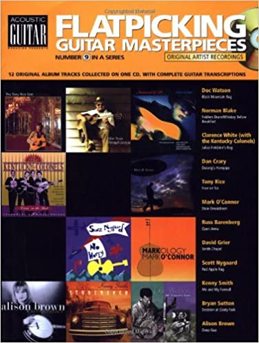 Download gratuito per la versione completa di Ebook Flatpicking Guitar Masterpieces Book/CD (String Letter Publishing) (Acoustic Guitar) (Acoustic Guitar (String Letter)) PDF CHM 1890490326