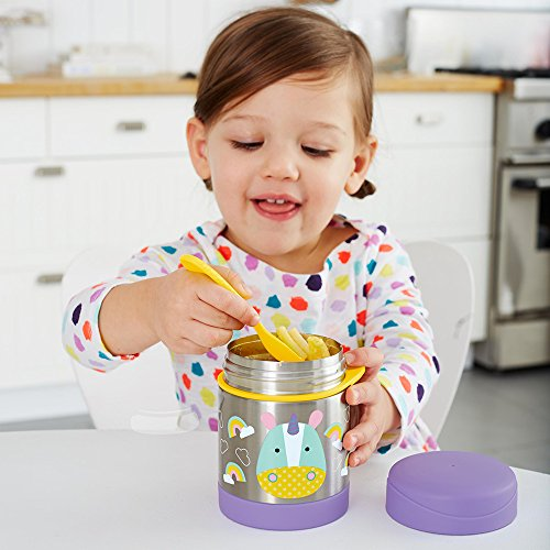 Skip Hop Baby Zoo Little Kid And Toddler Insulated Food