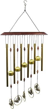 Antique Wind Chime Tubes Bells Garden Wall Hanging Decor Ornaments JG