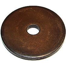 "Morton Case Hardened Steel Large OD Flat Washers, Inch Size, 1/2"" Bolt Size, 2"" Diameter"