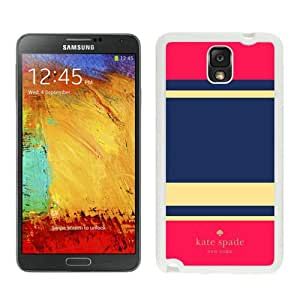 Personalized Design Customize Samsung Note 3 Protective Case Kate Spade New York Hardshell Case for Samsung Galaxy Note 3 N900A N900V N900P N900T Cover 302 White
