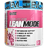 Evlution Nutrition Lean Mode Stimulant-Free Weight Loss Supplement with Garcinia Cambogia, CLA and Green Tea Leaf Extract, 30 Servings (Pink Lemonade)