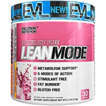 Evlution Nutrition Lean Mode Stimulant-Free Weight Loss Supplement with Garcinia Cambogia, CLA and Green Tea Leaf Extract, 30 Serving (Pink Lemonade)
