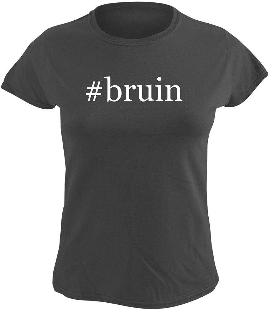 #bruin - Women's Hashtag Graphic T-Shirt, Grey, Small
