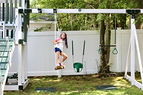 Swurfer Swingset Conversion Bracket - Heavy Duty Horse Glider Bracket For Swing Set Attachment