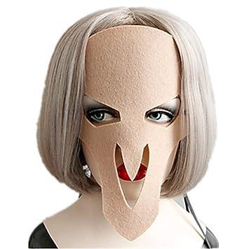 WHFDRHWSJMJ Mascara Halloween Terror de LED Cosplay Máscara de Halloween Regalo de Juguete para niños Muchachos