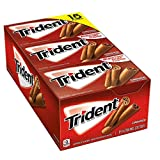 Trident Sugar Free Gum, Cinnamon, 14 Count (Pack of 15)