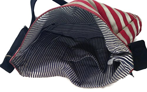 Americana Canvas Satchel Handbag