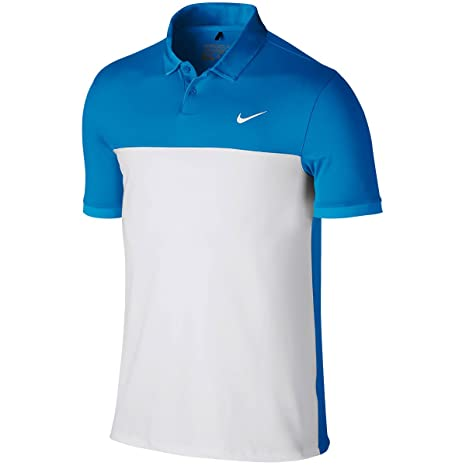 56df1481 Image Unavailable. Image not available for. Color: NIKE Golf Men's Icon  Color Block Polo ...