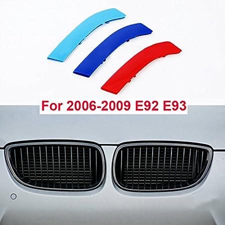 3D K/ühlergrill Trim Motorsport Streifen Grill Cover Aufkleber f/ür F30 F31 F35