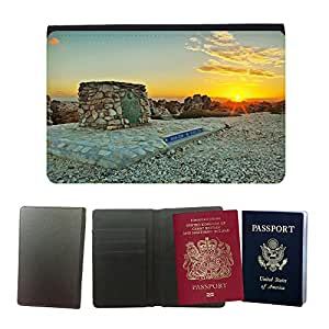 Couverture de passeport // M00421647 Sudáfrica Índico Océano Atlántico // Universal passport leather cover